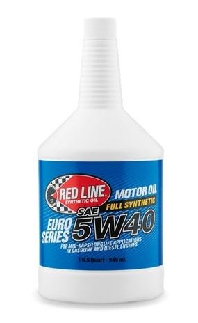 канистра масла моторного RedLine 5W40 Euro-Series