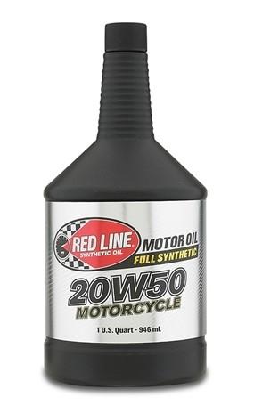 канистра RedLine 20W50 Moto моторное масло для мотоциклов