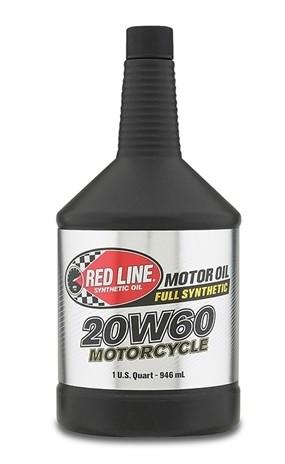 канистра RedLine 20W60 HD моторное масло для мотоциклов