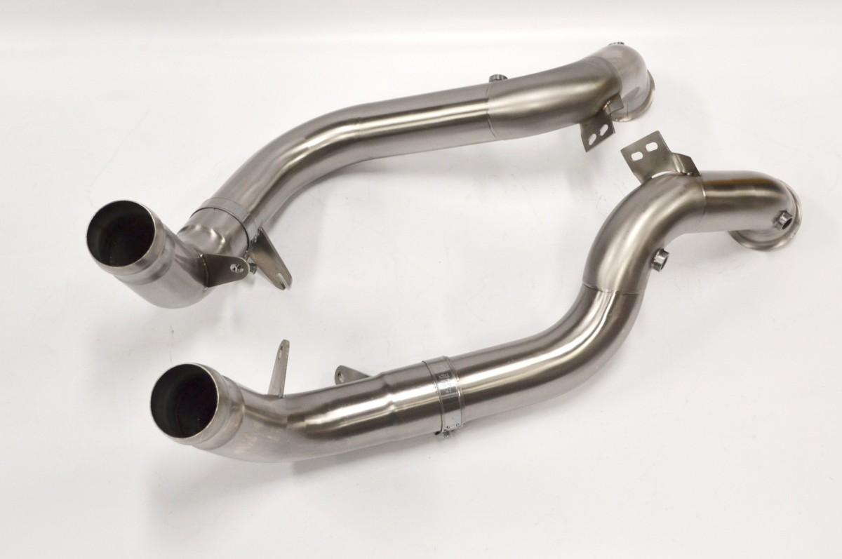 Даунпайп без катализатора для Mercedes-AMG E63 (W213)