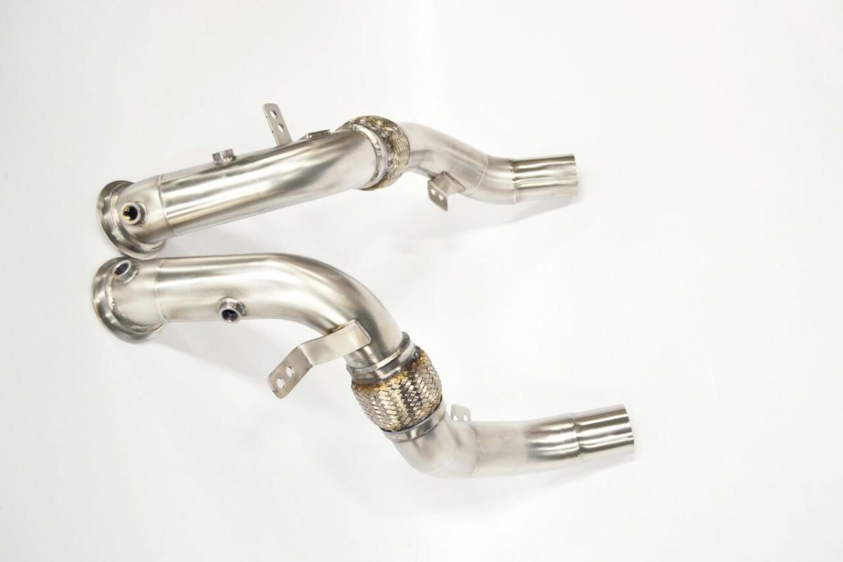Даунпайпы без катализаторов для BMW X5/X6 M (F85/F86)