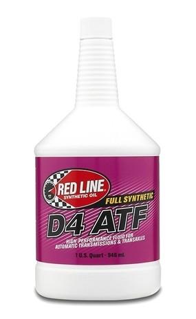 канистра RedLine D4 ATF трансмиссионное масло