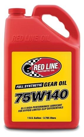 Трансмиссионное масло RedLine 75W140 GL-5