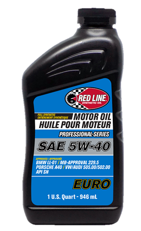 Моторное масло RedLine Professional-Series 5W40 EURO
