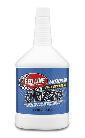 Бутылка масла redline 0w20