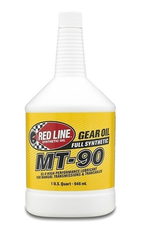 канистра RedLine MT-90 75W90 GL-4 трансмиссионное масло