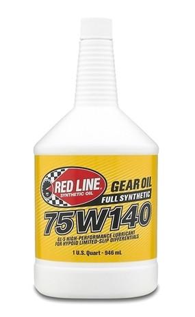 канистра RedLine 75W140 GL-5 трансмиссионное масло