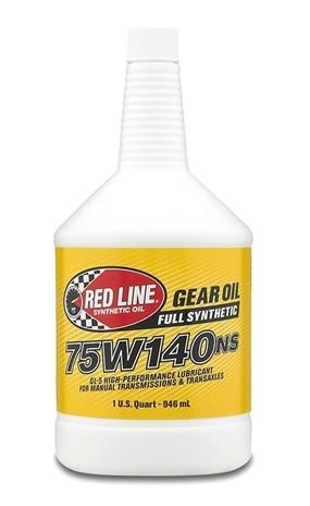 канистра RedLine 75W140 NS GL-5 трансмиссионное масло