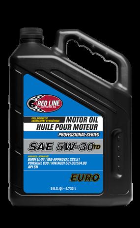 Моторное масло RedLine Professional-Series 5W30 TD EURO