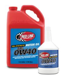 масло моторное RedLine 0W40 11104 11105